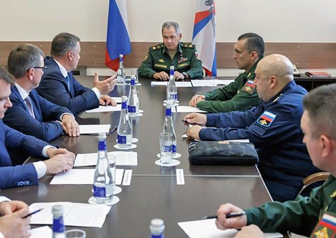 Сергей Шойгу сообщил, что по поручению президента в Иркутске будет построено Суворовское военное училище.