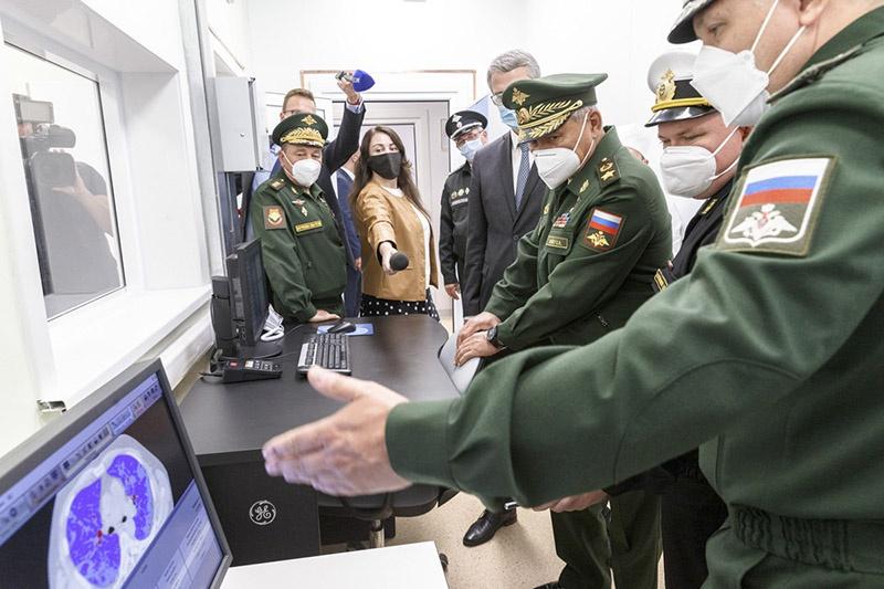 В уникальном лечебном комплексе установлено более 1.300 единиц специального медицинского оборудования.
