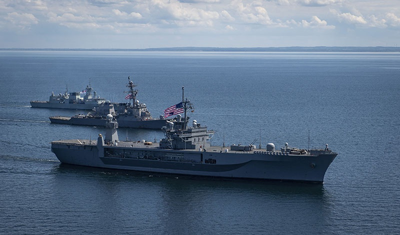 Военно-морские учения Baltops 2020 прошли с 7 по 17 июня.