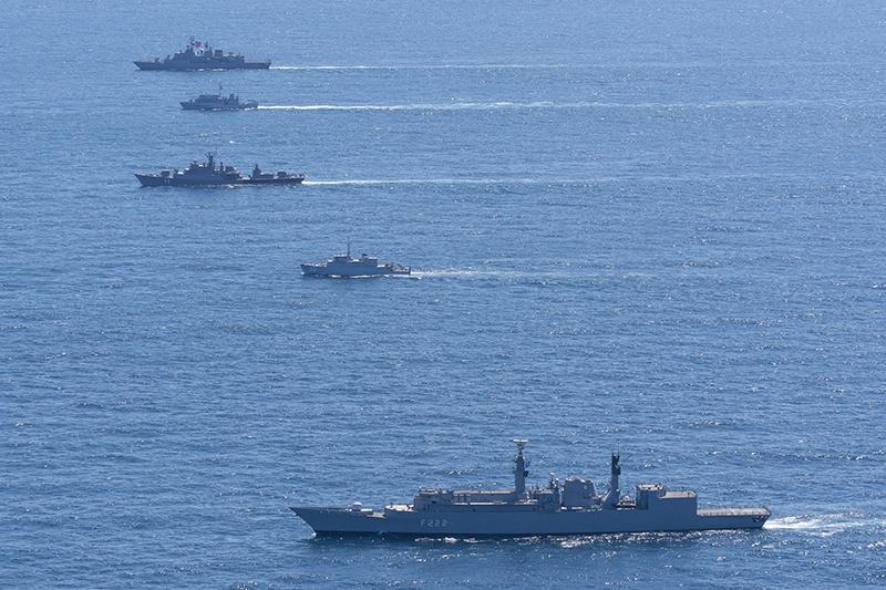 В Sea Breeze 2020 участвовали корабли из Болгарии, Грузии, Испании, США, Турции, Норвегии, Румынии, Украины и Франции.