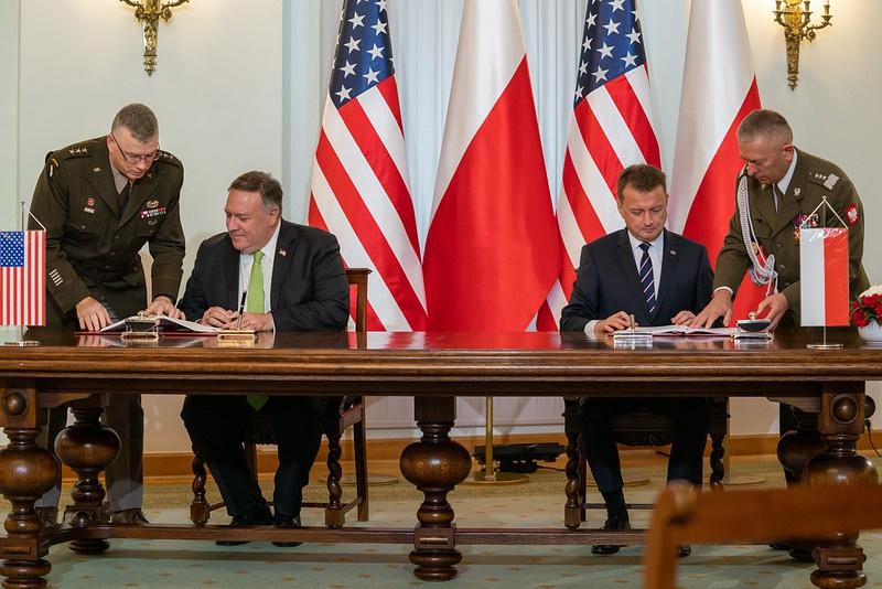 15 августа 2020 г. Польша и США подписали военное соглашение.