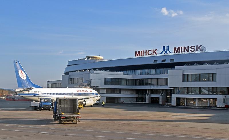 В аэропорту Минска были остановлены два польских гражданина с подозрительным багажом.