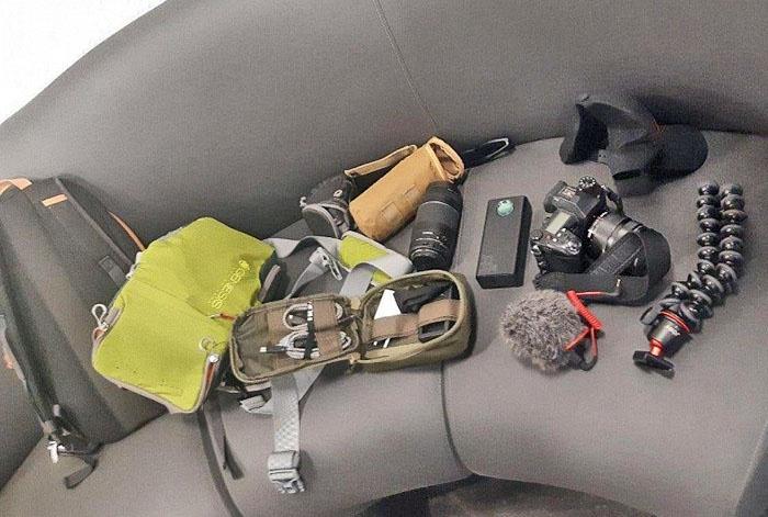 «Энтузиасты-скалолазы» имели при себе дорогостоящую профессиональную аппаратуру, включая зеркальные фотоаппараты, видеокамеры GoPro, дорогостоящий квадрокоптер.