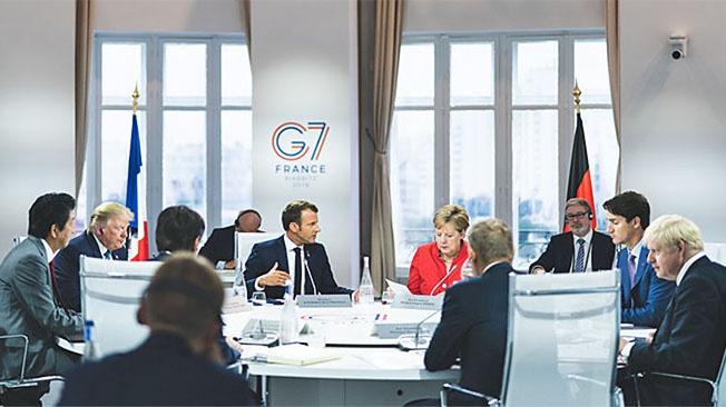«G7» пишем, один на ум пошло
