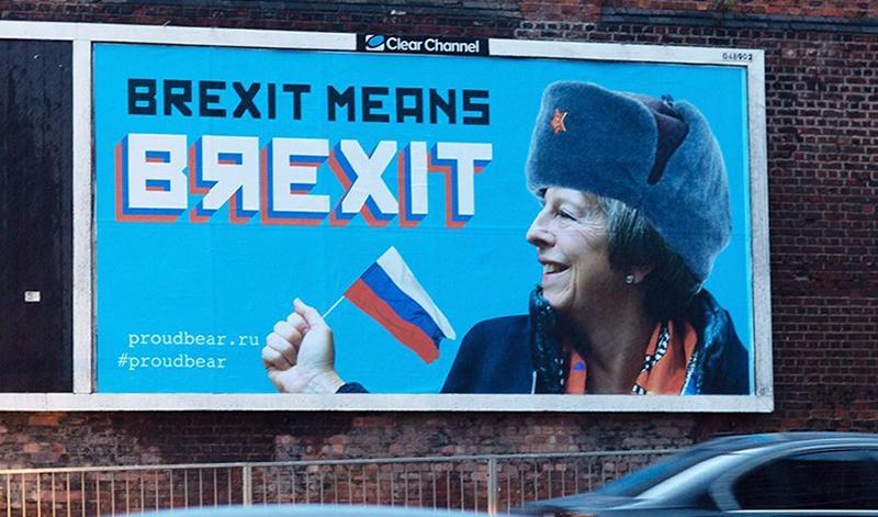 Психический автоматизм оказался «болезнью» крайне заразной, так как тут же в адрес России посыпался вал аналогичных обвинений от Британии по поводу Брексита.