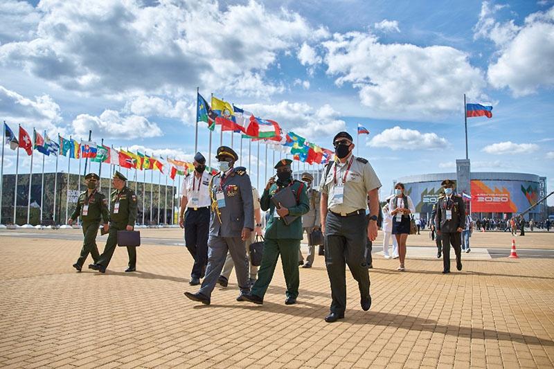 Члены делегаций и военные атташе из более 90 государств мира прибыли на открытие МВТФ-2020.