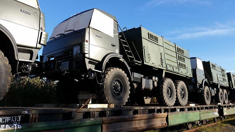 Специалисты ООО «Военные перевозки» за годы работы доставили более 20.000 единиц специфических военных грузов.