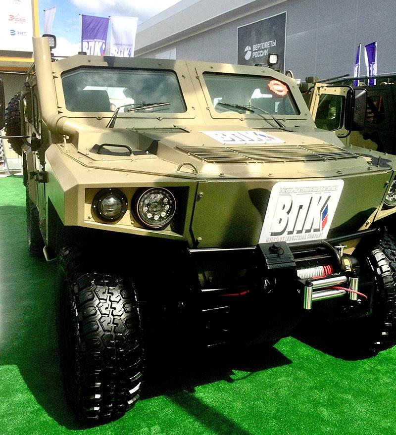 Лёгкий бронированный автомобиль многоцелевого назначения «Стрела».