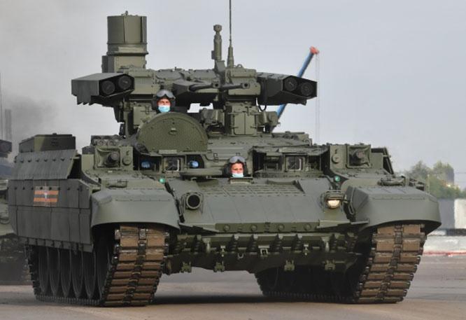 Боевая машина поддержки танков (БМПТ) «Терминатор».
