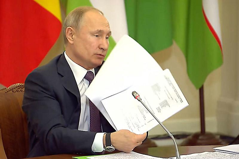 Президент РФ Владимир Путин публично предал гласности архивные документы - свидетельства польской фанаберии в роковом 1939 году.