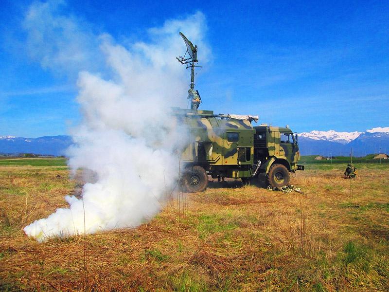Связисты Южного военного округа отработали задачи по проверке мобильности полевых узлов связи.