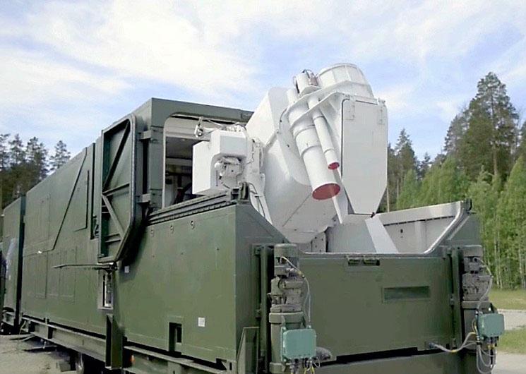 Российский боевой лазер «Пересвет».