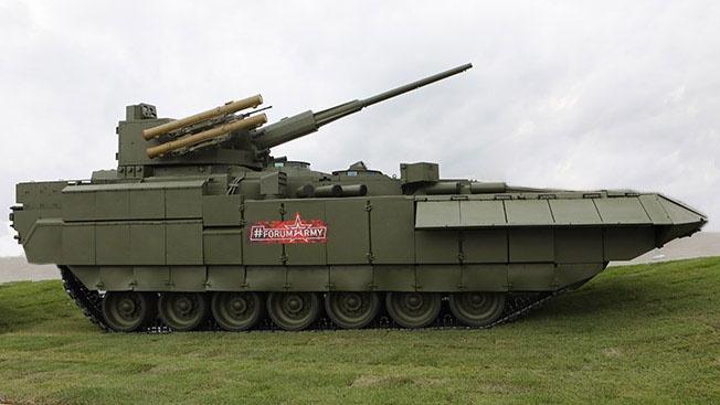 Благодаря интеграции боевых машин в автоматизированную систему управления «Андромеда-Д» командиры-десантники смогут управлять «Арматой» онлайн.