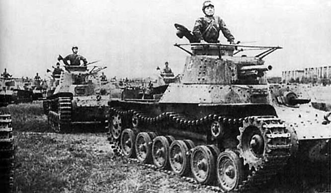 Японский средний танк «Чи-Ха».
