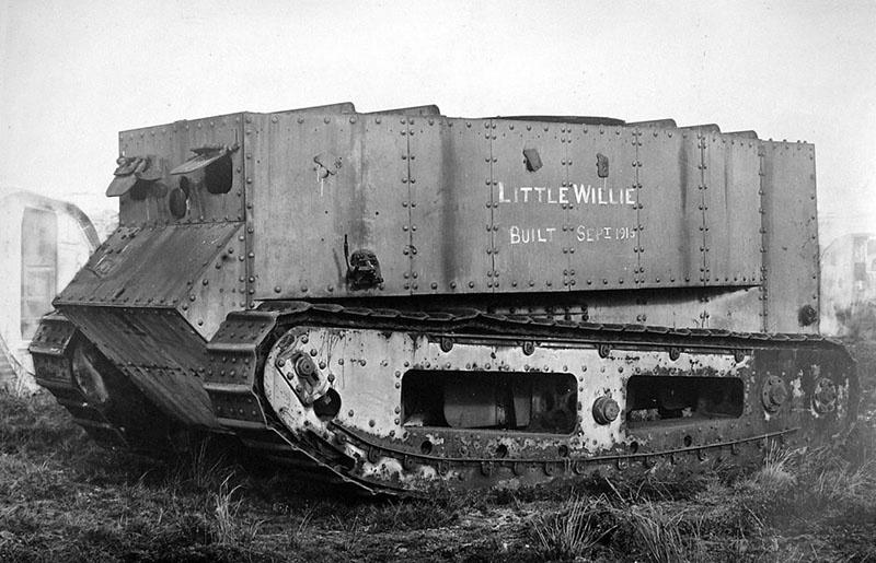 Вариант машины под названием «Маленький Вилли».
