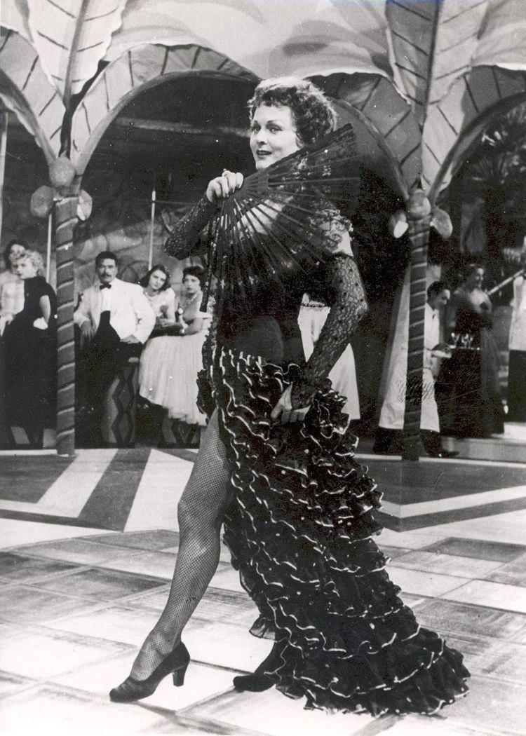 Марика Рёкк – кинозвезда бывшего Третьего рейха.