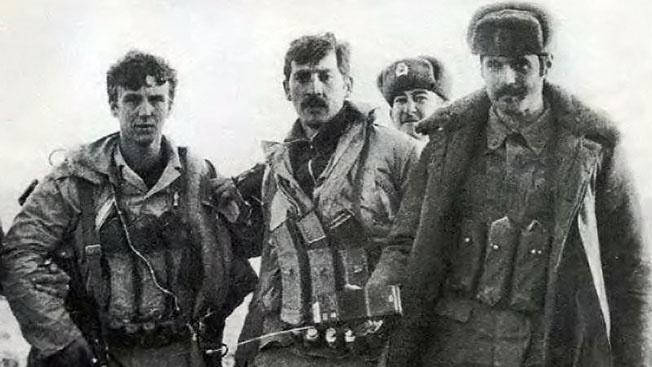 Отряд специального назначения лейтенанта Владимира Ковтуна (в центре).