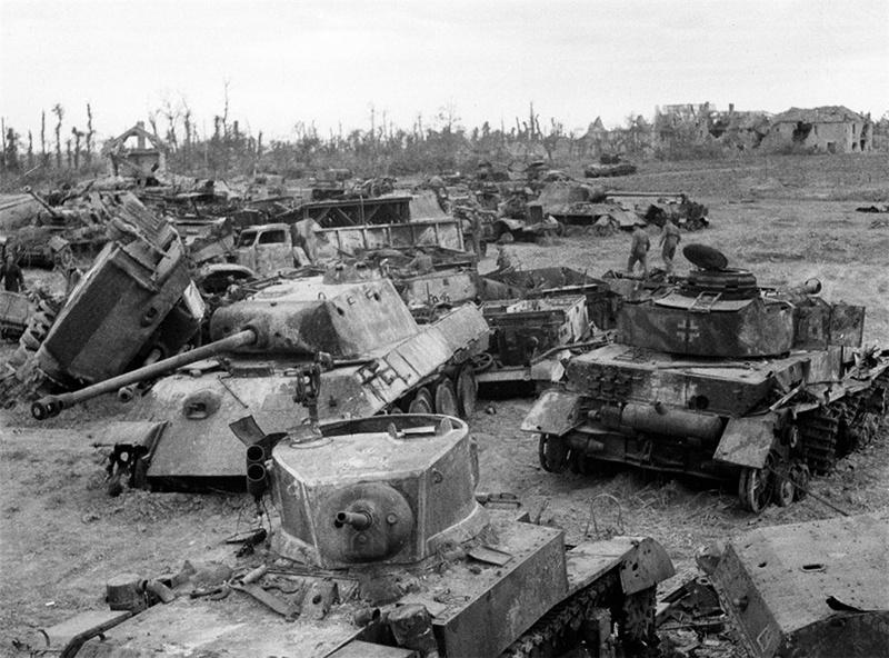 Во время второй мировой войны среднее время «жизни» танка в бою при атаке составляло 7 минут, а в обороне 15 минут.