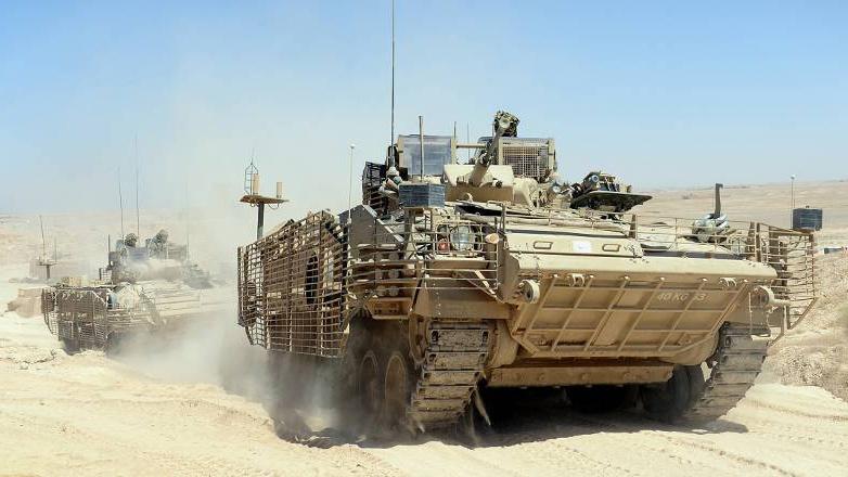 БМП Warrior вместе с танками Challenger возможно скоро отправят на переплавку.