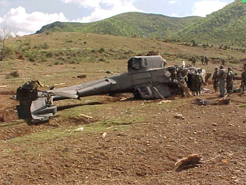В числе общих потерь НАТО в Югославии - четыре вертолёта AH-64 Apache.