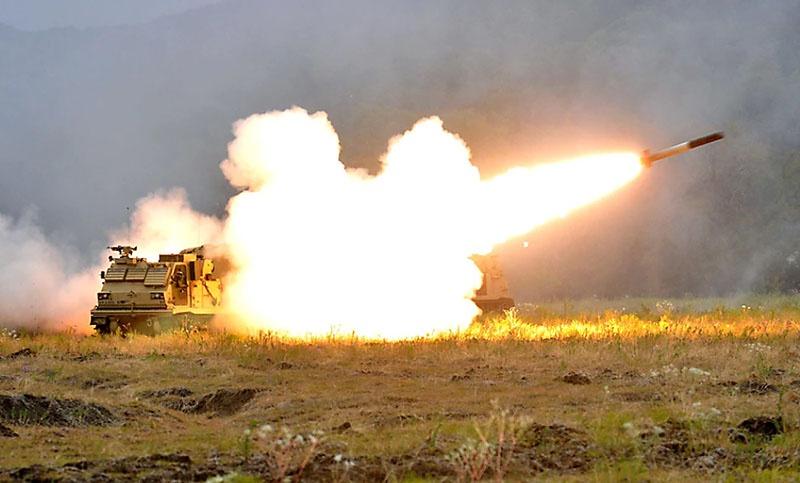 В учениях Rail Gunner Rush в Эстонии принимает участие 41-я артиллерийская бригада США.