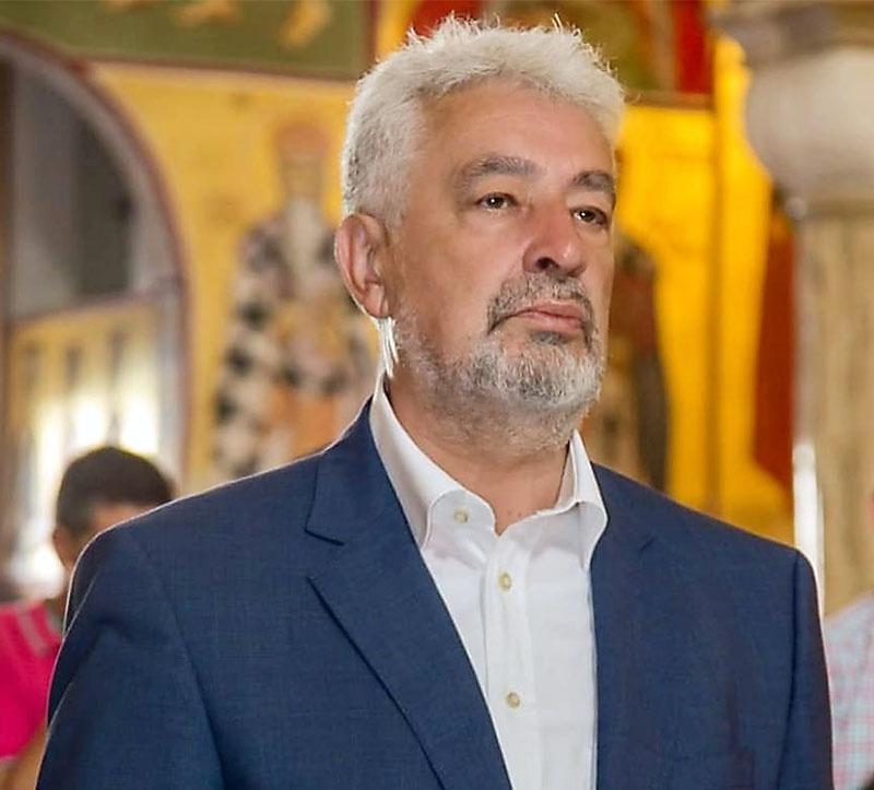Лидер списка коалиции «За будущее Черногории» Здравко Кривокапич.