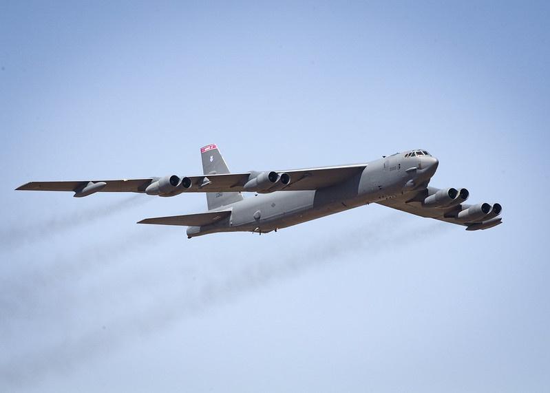 В-52Н может взять на борт свыше 30 тонн различных боеприпасов.