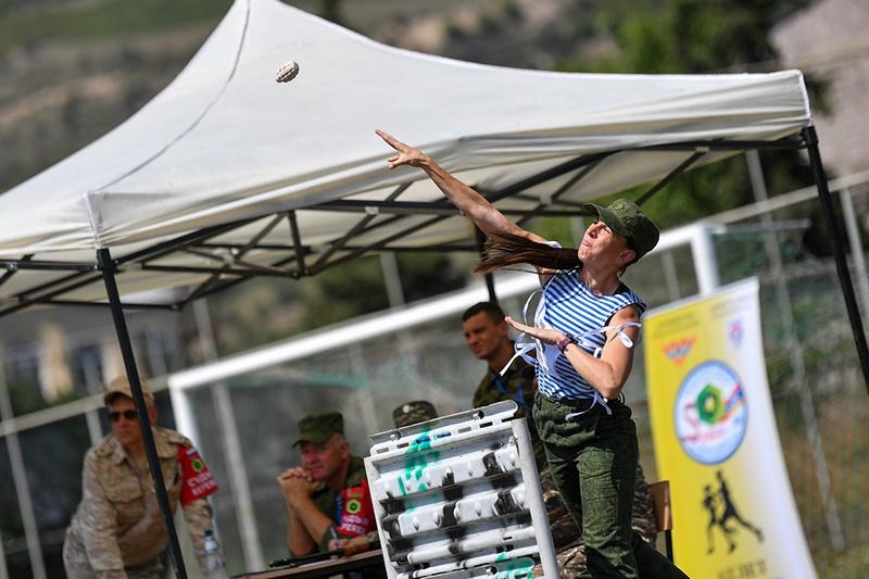 На военно-спортивном комплексе и горном полигоне г. Иджеван (Тавушская область) минобороны Армении завершился военно-профессиональный этап «Атлет».