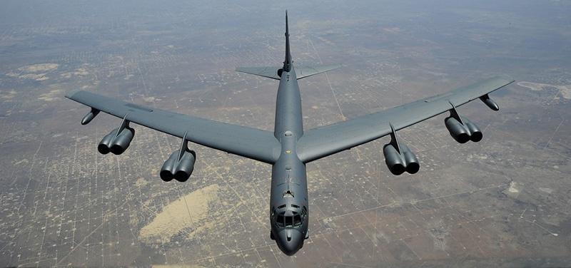 В октябре 2019 года стратегический бомбардировщик США В-52Н пролетал в 60 км от Калининградской области в воздушном пространстве Литвы.