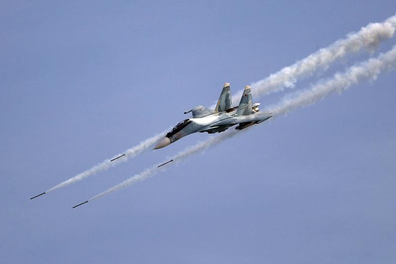 Всего в ходе боевого применения авиационных средств поражения по наземным целям было использовано 320 неуправляемых авиационных ракет и 840 снарядов.