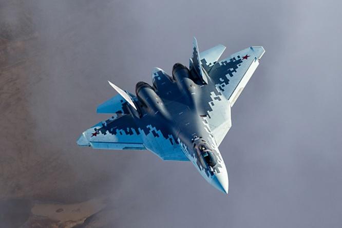 Су-57 - многофункциональный истребитель 5-го поколения: его комплекс бортового электронного оборудования и комплекс авиационного вооружения создавался для взаимодействия с АСУВ различных родов войск.