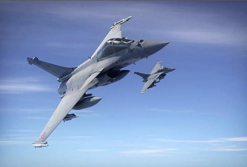 На фоне действий Турции правительство Греции обсуждает планы покупки 18 истребителей Rafale у Франции.