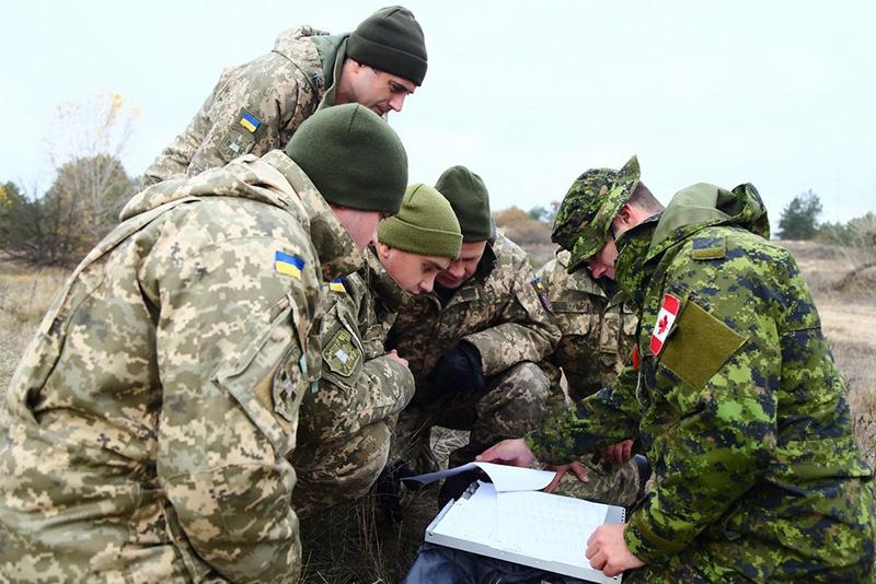 Чему учат натовские инструкторы из армии Канады украинских военных? Это испытал Донбасс на своей «шкуре».