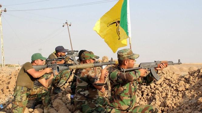 Бойцы проиранской группировки «Кятаиб Хезболла».
