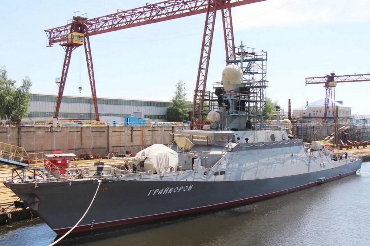 Малый ракетный корабль «Грайворон» проекта «Буян-М» после серии испытаний также войдёт в состав Черноморского флота.
