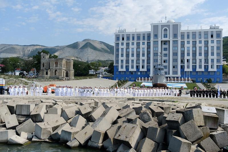 Штаб Новороссийской военно-морской базы.
