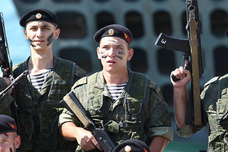 Новороссийские морпехи к бою готовы.