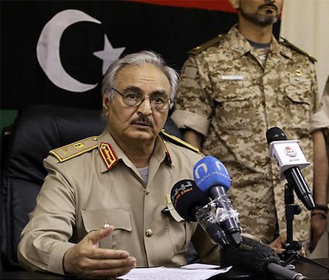 Нельзя исключать, что Хафтар рискнёт повторить попытку объявить себя диктатором, единоличным «хозяином всея Ливии».