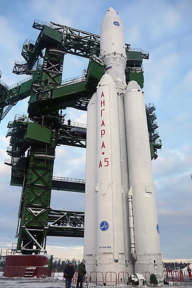 Тяжёлая ракета-носитель «Ангара-А5».