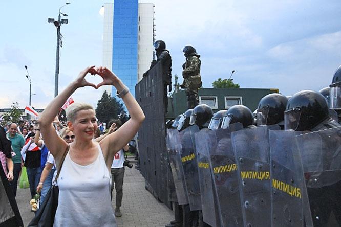 Член президиума оппозиционного координационного совета Мария Колесникова оказалась в СИЗО за призывы к захвату власти.
