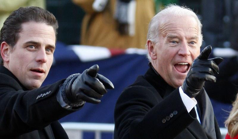 Кандидат в президенты США Джозеф Байден и его сын Хантер хорошо поимели Украину.