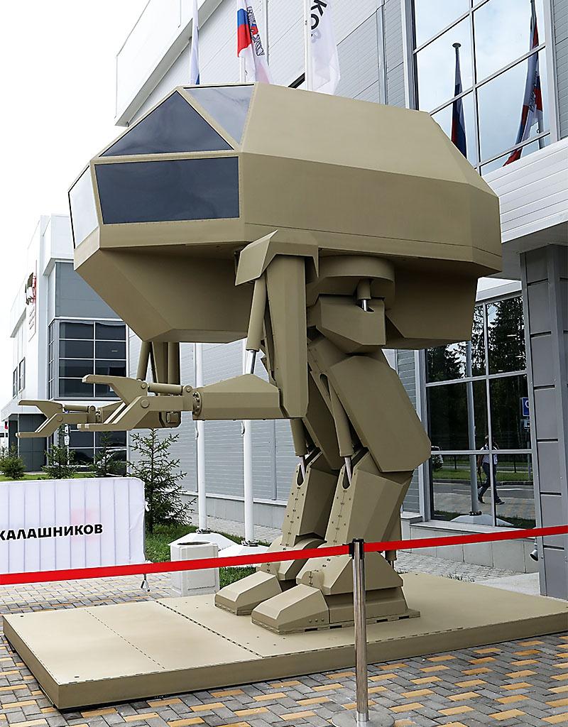 В концерне «Калашников» разрабатываются боевые роботы-андроиды для нужд нашей армии.