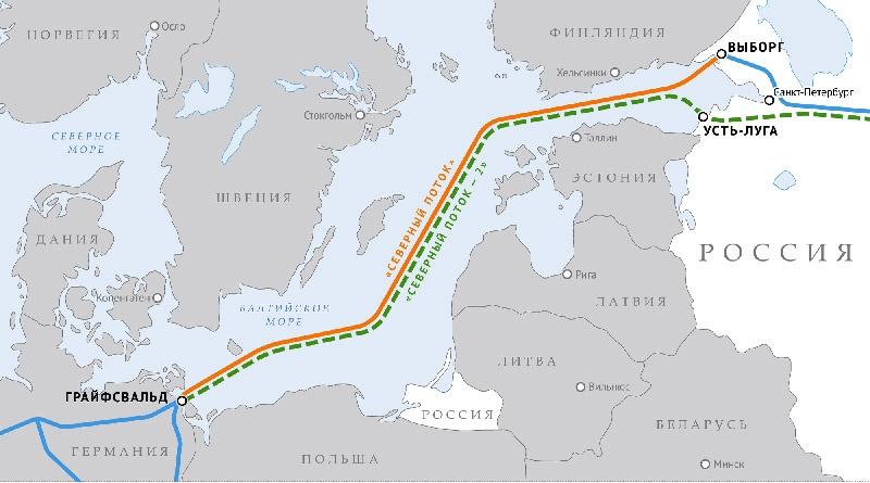 Меркель последовательно отстаивала проект газопровода «Северный поток-2», называя его не политическим, а «чисто экономическим».
