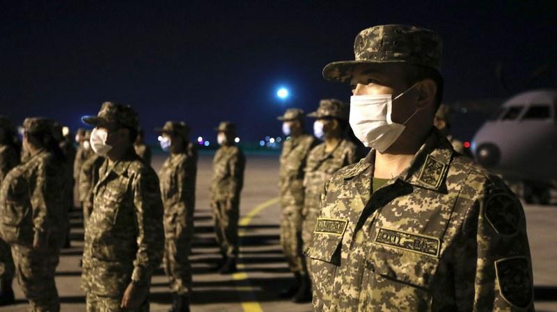 КАЗБРИГ также постоянно участвует в миротворческих миссиях.