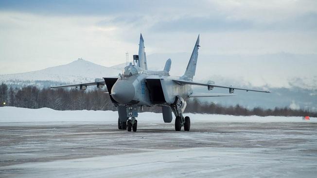 Ледовая посадка для ударной авиации