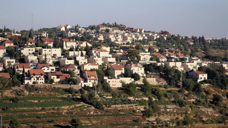 Поселение на Западном берегу реки Иордан.