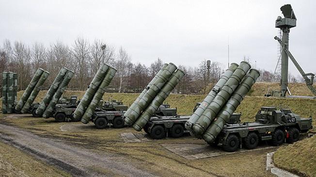 Система ПВО в Калининградской области.