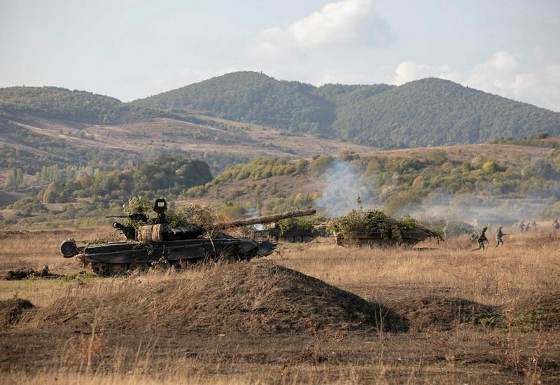 Мотострелки ЮВО в Южной Осетии уничтожили условного противника применив «Сирийский вал» в ходе СКШУ «Кавказ-2020».