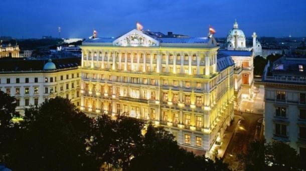 Hotel Imperial Vienna - здесь располагалось кафе «Гартенбау».