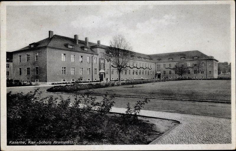 Казарма одной из воинских частей гарнизона Крампниц.